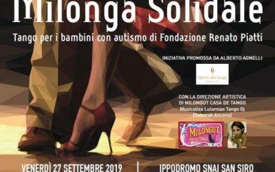 Milonga solidale, la magia del Tango per aiutare i bambini con autismo